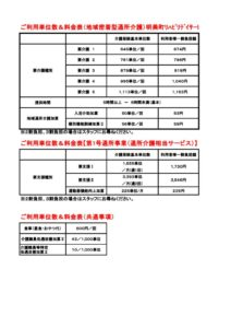R1 10 1~利用単位数料金表(明美町)のサムネイル